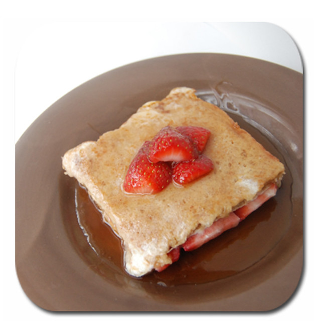 Banana Strawberry French Toast5