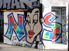 Sarkoland (tofz4u) Tags: streetart paris graffiti tag artderue 75020 sarko sarkoland niquesarko