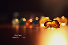 Frozen lava (Mayank Sharma renewed :D :D) Tags: light india house home yellow stone canon studio table 50mm golden frozen warm dof bokeh delhi pebble heat
