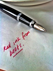 ink fountainpen beets beet