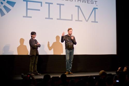 Conan O'Brien onstage