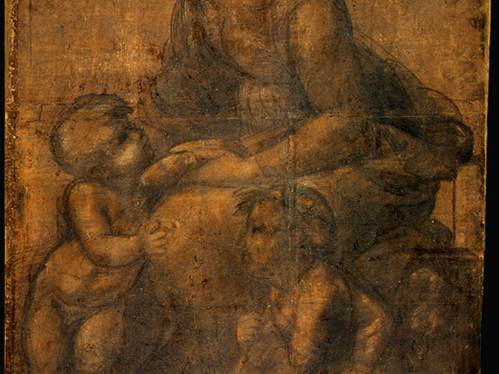 Raphael-The-Madonna-and-Child-with-Saint-John-the-Baptist-Detail-grouping
