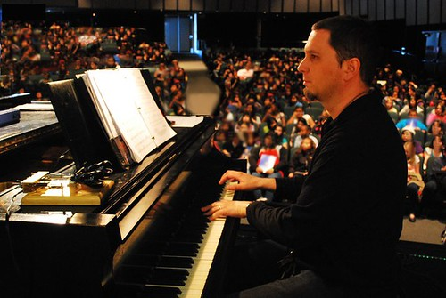 David Mount at Piano