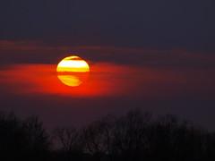 Sonnenuntergang (Hans-Jrgen Bckmann) Tags: sunset sun germany deutschland sonnenuntergang sonne schleswigholstein 2011 ostholstein