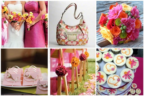 More spring wedding themes and color palettes