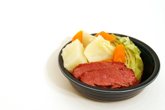 Honey Mustard-Glazed Corned Beef and Cabbage