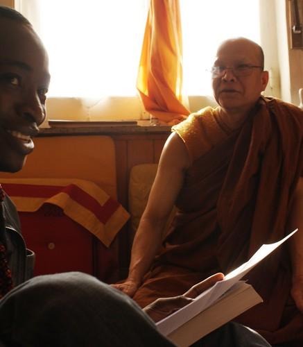 Rencontre avec le moine Richard Xavanna, Roubaix, 2011
