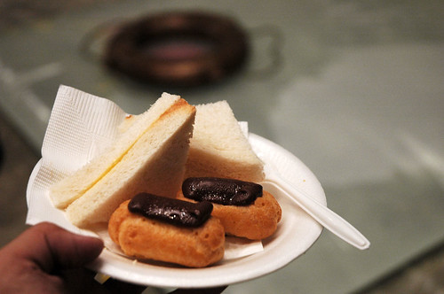 KG Catering - Chocolate Eclairs & Sandwiches