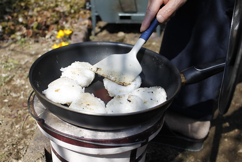 お庭で炊き出し #2