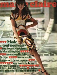 Marie Claire-October 1967 (Fashion Covers Magazines (First)) Tags: 1967 marieclaire vintagefashion vintagemagazine 1960s marieclairemagazine 1960sfashion