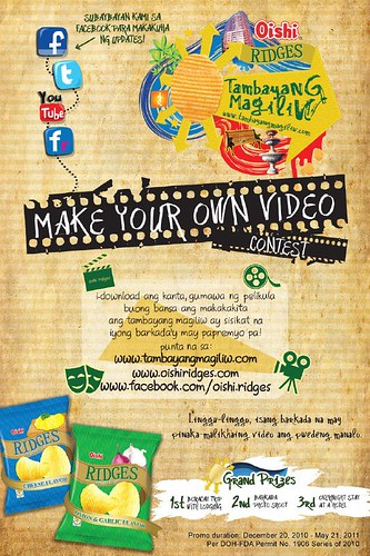 Ridges- Make your own Video Contest (mail)