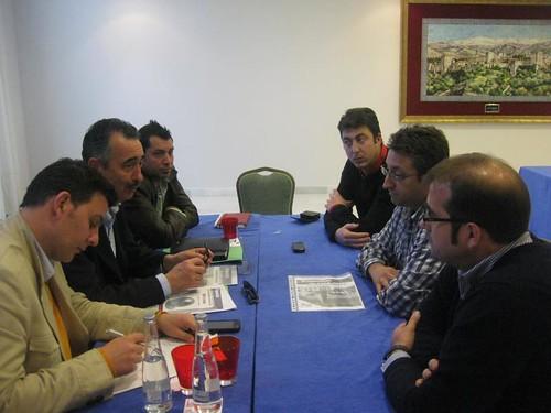 Ignacio Velazquez con la ONG,s