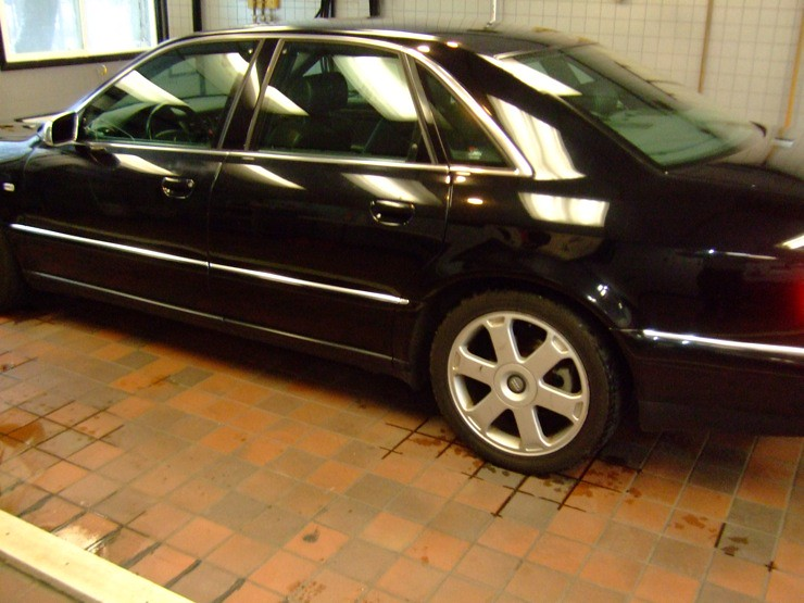 Paint Correction by Gotham Auto Works 2002 Audi s8
