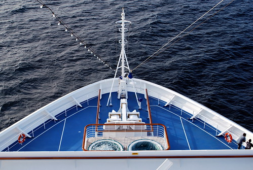 The Bow of the Carnival Glory