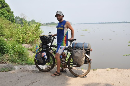 Beside the Congo river