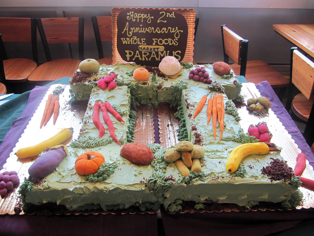 Whole Foods Market Paramus 2 Year Anniversary Earthy Fruits Amp Vegetables Cake By Tony Quot