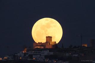 Luna llena en el perigeo 19.03.2011