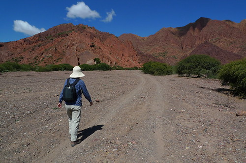 Towards Inca Canyon - Tupiza, Bolivia