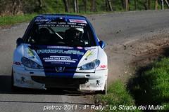 DSC_1248 - Peugeot 206 - S1600 - Bonfatti Luca-Ialvuno Alberto - Black Lion Team (pietroz) Tags: photo nikon foto photos 4 rally le fotos strade dei montalbo immagini mulini 4 ziano trevozzo pietroz d300s pietrozoccola