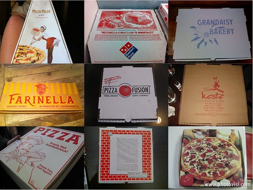 Shirley Chow Pizza Boxes