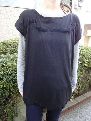 oversized tops tsumori