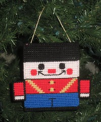 Nutcracker Christmas Ornament (TheLoopyStitcher) Tags: sewing crafts loopy stitcher plasticcanvas