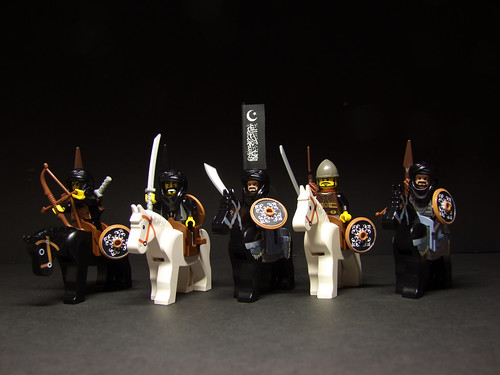 Custom minifig Saracen light cavalry