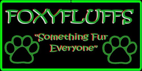 foxyfluffs store sign