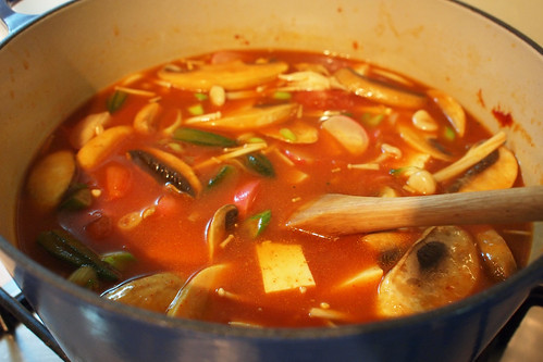 Cooking up my Korean soup