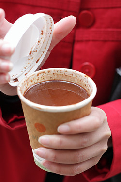 Xoco hot chocolate