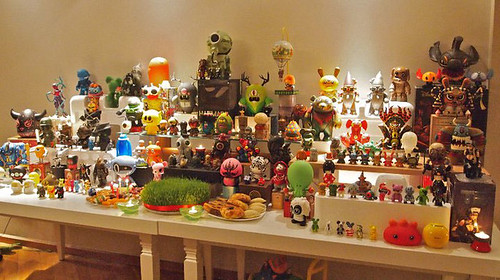 The Art Toy Collection Of Azer Javad Aliyev