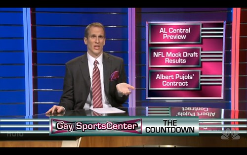 Gay SportsCenter - 30 Rock - Plan B