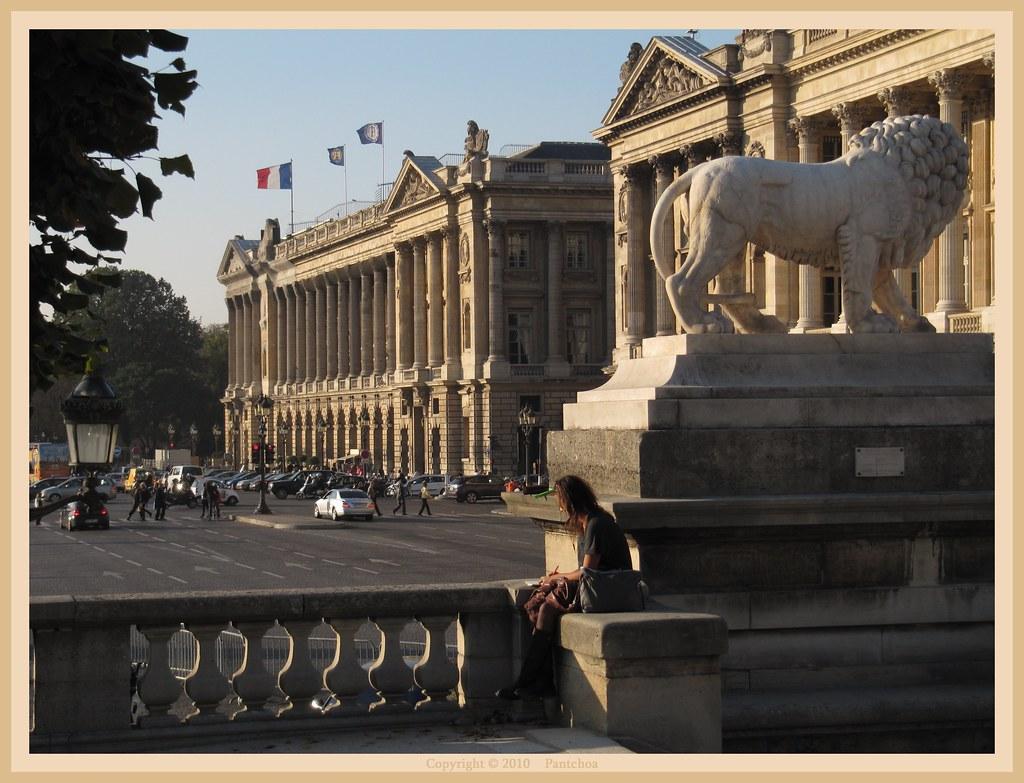 Paris : Hôtel de Crillon Concorde Square 2/2