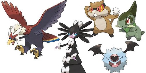 Pokemon Black and White Pokedex  - Pokemons Location Guide