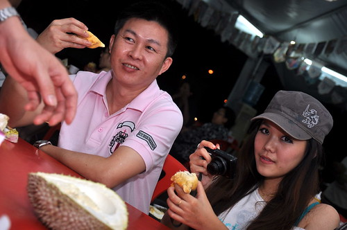 Durian with Alan Yun Sunny Esther