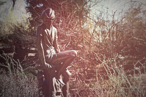 carl schurz garden statue treatment