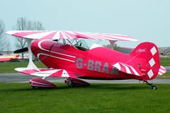 G-BRAA Pitts S-1S (tedwalkuk) Tags: aircraft aviation aerobatic pitts breighton gbraa