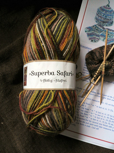 sock wool from Farnham