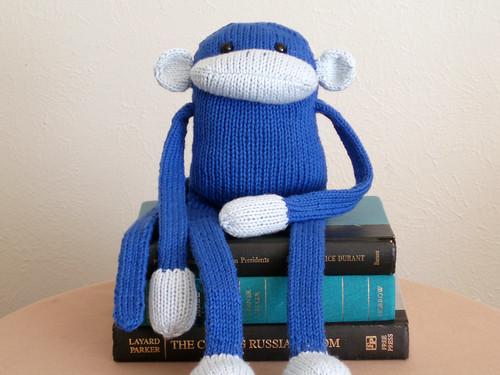 monkey blue 1