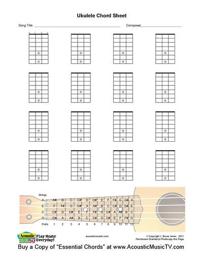 Flickriver Photoset Essential Chords For Guitar Mandolin Ukulele