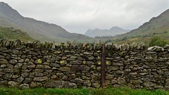 Stonewall (J @BRX) Tags: drystonewall stonewall wrynosepass roadtrip sky mountains rain stream lakedistrict nationalpark cumbria england uk september2016 summer