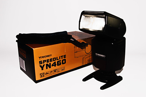 My First Flashgun - Yongnuo YN-460