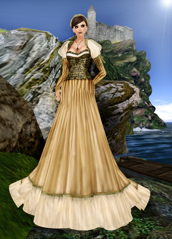TWA - Off To The Faire Gown