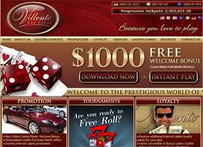 Villento Casino Home