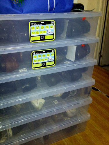 003b plastic shoe boxes
