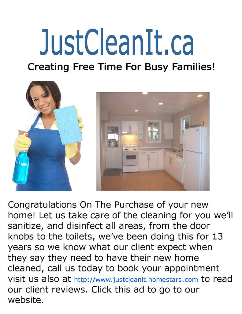 Move In/Out Cleaning Services Toronto,Etobicoke,Markham,Whitby,Pickering