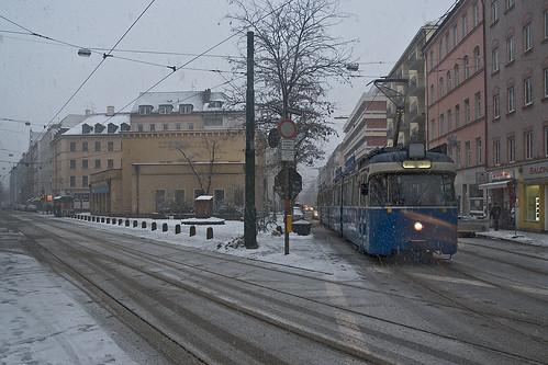 Störungsbedingt war P-Wagen 2010 der einzige Wagen im Abschnitt Stachus-Stiglmaierplatz