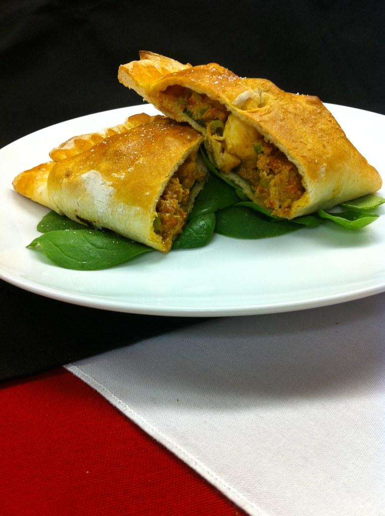 Chicken Curry Calzone