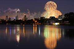 Australia Day Fireworks (kth517) Tags: australia melbourne victoria australiaday albertpark   australiadayfireworks  australianationalday