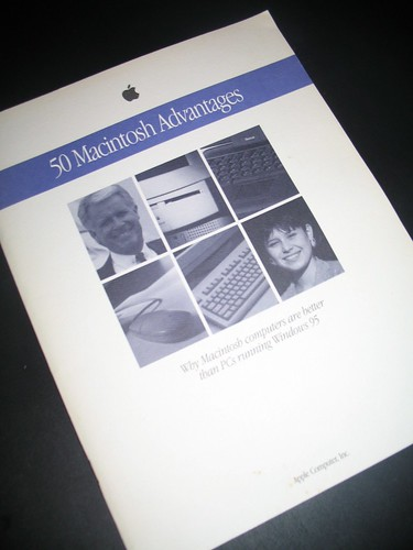 The PC Weenies - A Blast from the Past: 50 Macintosh Advantages
